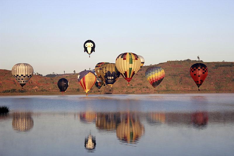 Faire de la montgolfière : oui, c'est possible à Madagascar